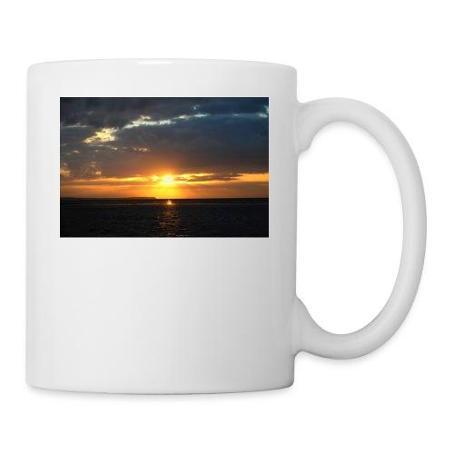 t-shirt zonsondergang - Mok
