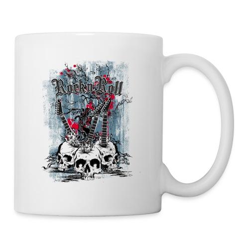 rock n roll skulls - Mok