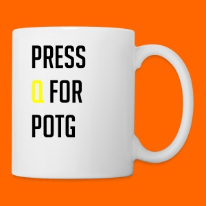 Press Q for play of the game - Mug