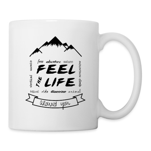Feel the Life around you - Negro - Taza