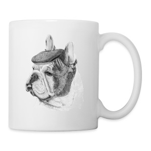 French Bulldog w/beret - Kop/krus