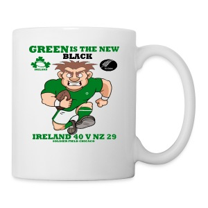 GREEN IS THE NEW BLACK !! - Mug