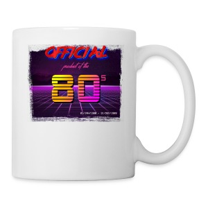 Official product of the 80's clothing - Mug