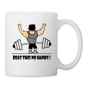BEAT THIS NO HANDS ! - Mug