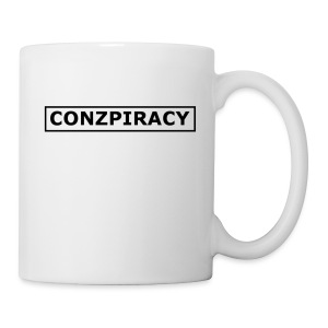 CONZPIRACY wording - Mug