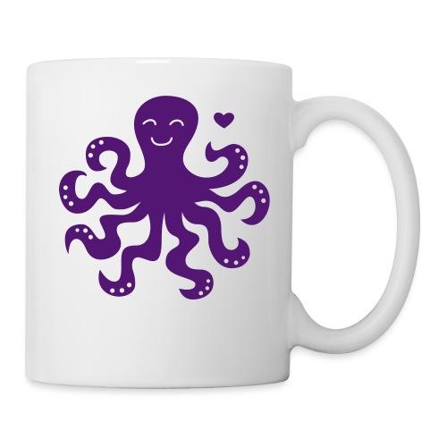 »Meeresliebelei« Octopus - Tasse