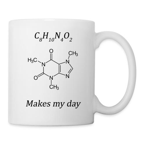 Coffein makes my day - Tasse
