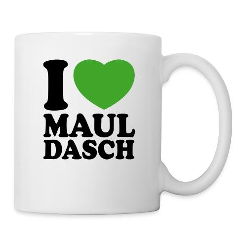 I love Mauldasch - klassik - Tasse