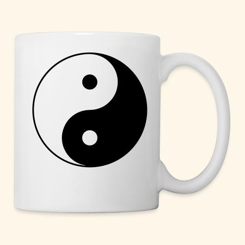 L'équilibre Ying Yang - Mug blanc
