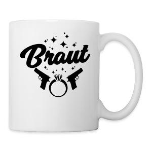 Braut - JGA T-Shirt - JGA Shirt - Team Braut - Tasse