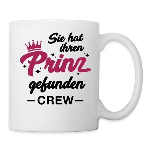 Sie hat ihren Prinz gefunden Crew - JGA T-Shirt - Tasse