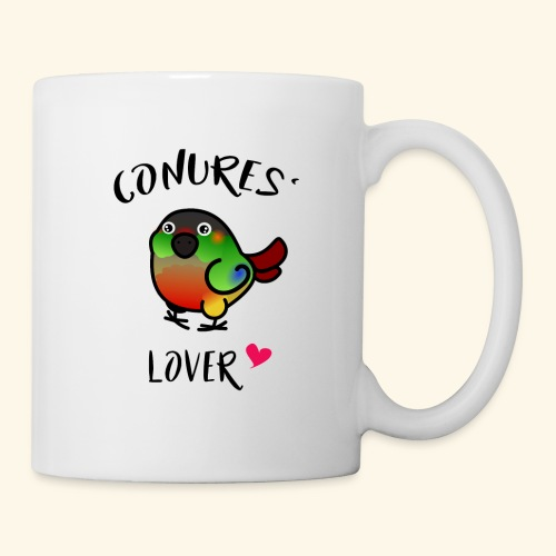 Conures' Lover: opaline - Mug blanc