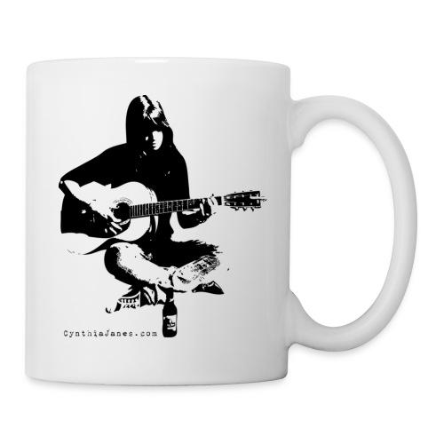 Cynthia Janes guitar BLACK - Mug