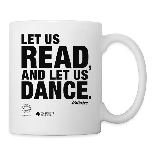 LET US READ   Bookish Merch - Tasse