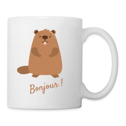 La marmotte - Mug blanc