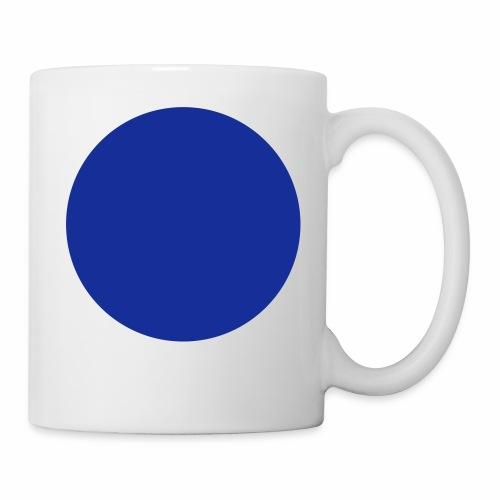 Blue blob - Mug blanc