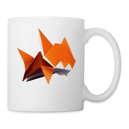 Jumping Cat Origami - Cat - Gato - Katze - Gatto - Mug