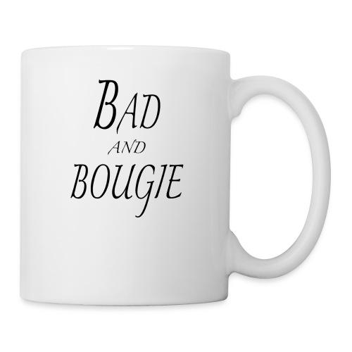 Bad and bougie Black - Mug blanc