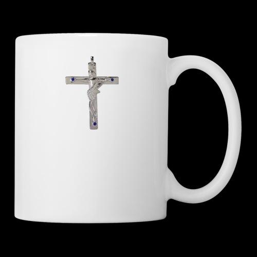 Croix de Johnny - Mug blanc