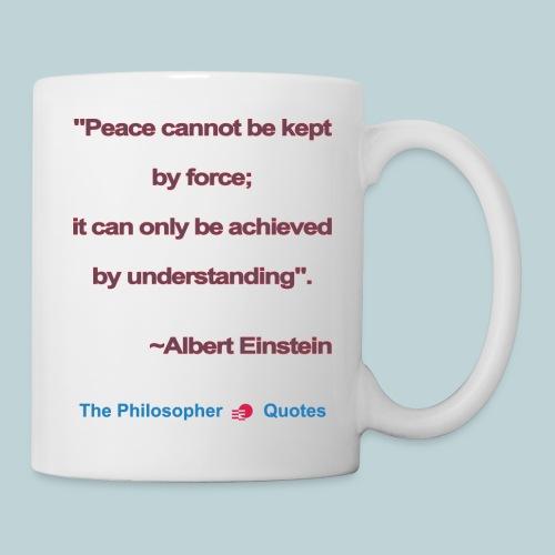 Einstein Peace understanding b - Mok