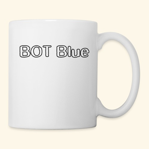 BOT Blue Written Logo - Mug