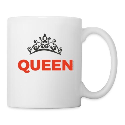 Queen - denn Du bist die Königin - Tasse