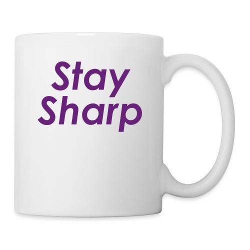 Stay Sharp - Tazza