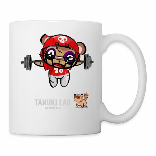 oso deportista - Taza