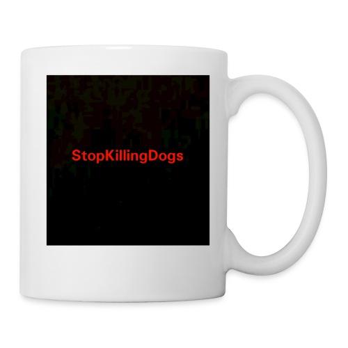 StopKillingDogs Aufschrift - Tasse
