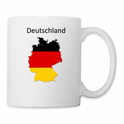 Deutschland Karte - Tasse