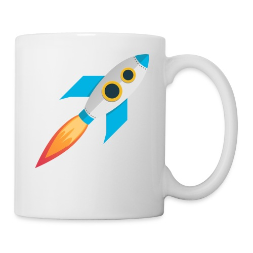 Rocket Magicline com Typo weiss DIN A3 - Tasse