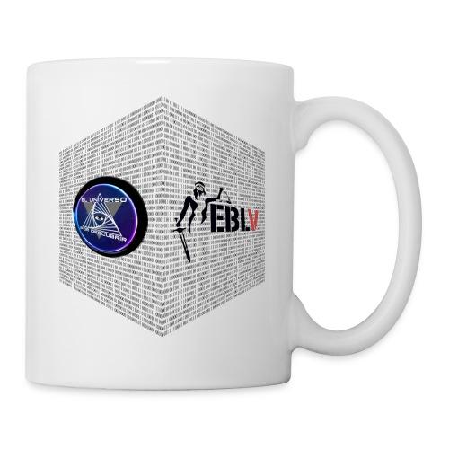 disen o dos canales cubo binario logos delante - Mug