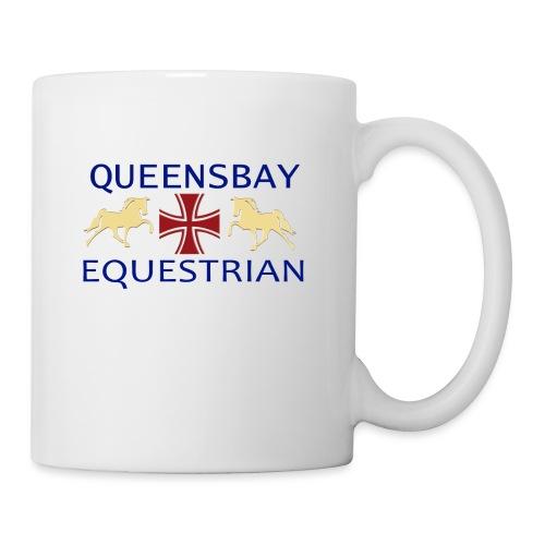Queensbay Equestrian logo - Mok
