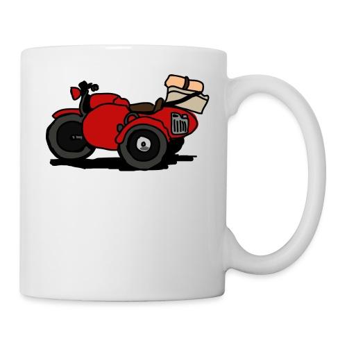 side rouge - Mug blanc