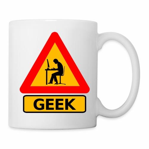Geek - Mug blanc