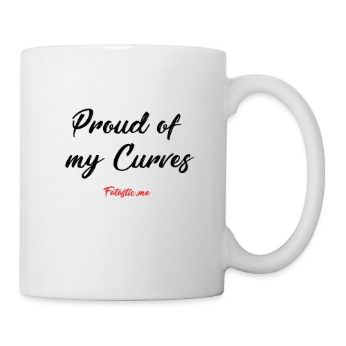 Proud of my Curves by Fatastic.me - Mug