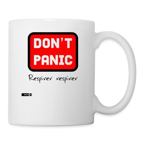 don't panic, respirer - Mug blanc