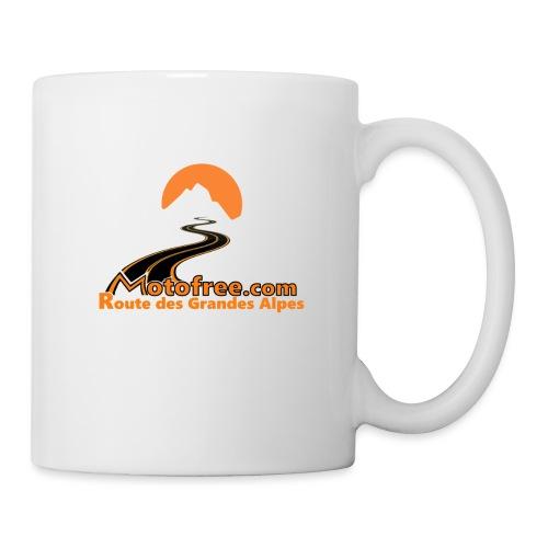 logo motofree orange - Mug blanc