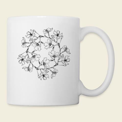 Blütenkreis - Tasse