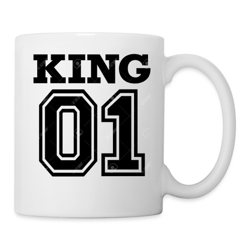 King 01 - Mug blanc