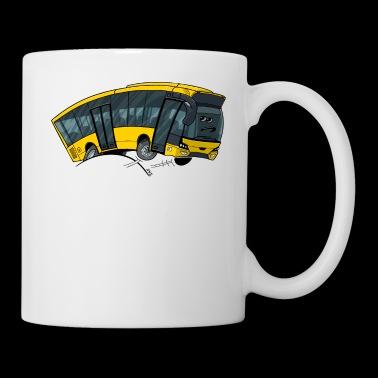 Bus 0712 żółty - Kubek