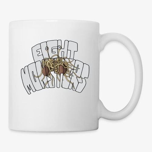 Eight Monsters - Mug blanc