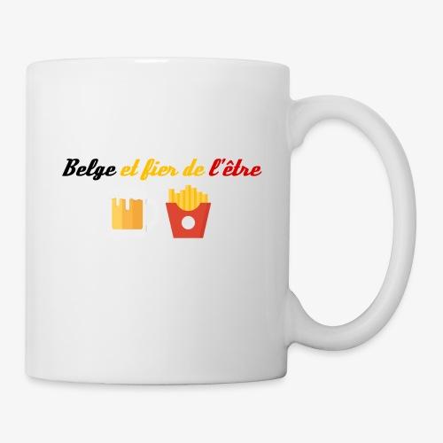 Belge et fier de l'être - Mug blanc