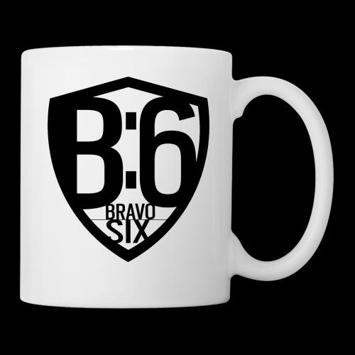 BRAVO SIX ESL Logo Black - Tasse