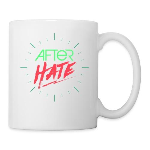 After Hate Horloge - Mug blanc