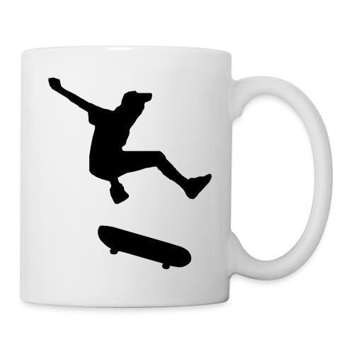 rollbrett skater skateboarding graffity skatepunk - Tasse