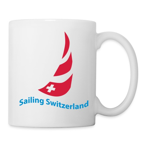 logo sailing switzerland - Tasse