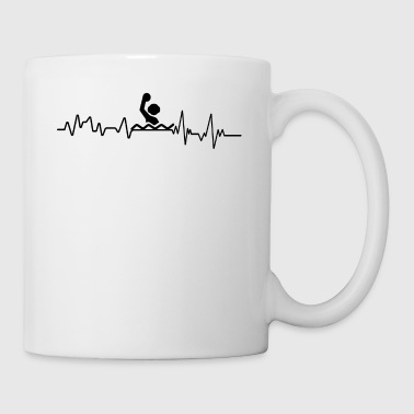 Heartbeat Water Polo T-shirt prezent Water - Kubek
