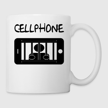 Mobile cell jail and detainee - Mug
