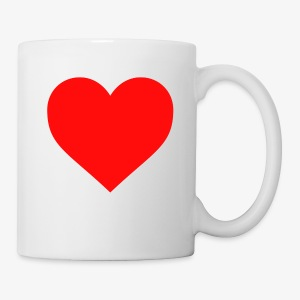 A Heart Mug - Mug
